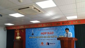 Permanent Deputy Chairman of the Vietnam Journalists Association Ho Quang Loi (Photo: VNA)