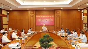 General Secretary of the Communist Party of Vietnam Nguyen Phu Trong addresses the meeting (Photo: VNA)