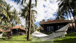 Saigon Phu Quoc Resort and Spa is being refurbished to welcome back tourists. (Photo:VNA)