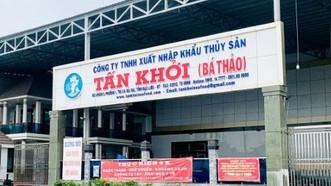 Công ty TNHH xuất nhập khẩu thủy sản Tấn Khởi