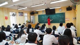 Dịch Covid-19 bùng phát khiến học sinh lo lắng cho các kỳ thi sắp tới. Ảnh: QUANG PHÚC