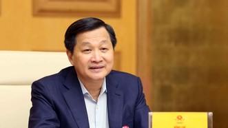 Phó Thủ tướng Lê Minh Khái, Trưởng Ban Chỉ đạo điều hành giá chủ trì cuộc họp