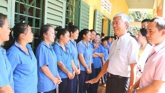 Phó Chủ tịch UBND TPHCM Võ Văn Hoan thăm, chúc tết các cơ sở cai nghiện ma túy