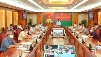 Ủy ban Kiểm tra Trung ương thi hành kỷ luật nhiều lãnh đạo và nguyên lãnh đạo Hà Nội và TPHCM