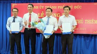 TP Thủ Đức thành lập Đảng bộ phường An Khánh và phường Thủ Thiêm sau sáp nhập