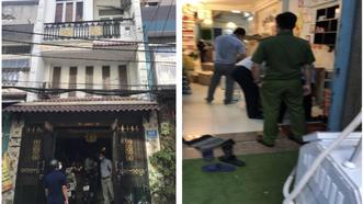 """Một """"cơ sở"""" (nhà phố) không biển hiệu, không giấy phép tại địa chỉ số 45T Cư xá Phú Lâm D, phường 10, quận 6 ngang nhiên phẫu thuật thẩm mỹ """"chui"""". Ảnh: SYT"""
