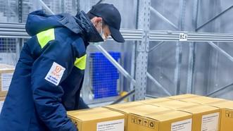 Lô vaccine được bảo quản nghiêm ngặt trong kho lạnh