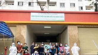 Bệnh nhân điều trị tại Bệnh viện dã chiến thu dung và điều trị Covid-19 số 3 khỏi bệnh, xuất viện
