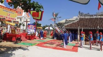 Lễ Khao lề thế lính Hoàng Sa tại đảo Lý Sơn