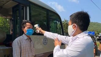Quảng Ngãi lập 5 chốt kiểm tra y tế đối với người xuất phát hoặc đi qua vùng có dịch Covid-19 về địa phương hoạt động từ 17 giờ ngày 13-5