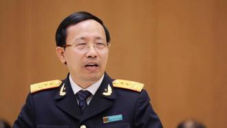 Tổng cục trưởng Tổng cục Hải quan Nguyễn Văn Cẩn