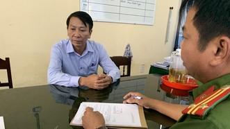 Nguyên Chủ tịch UBND xã Quảng Vinh Hồ Quang Hóa bị khởi tố về hành vi tham ô tài sản