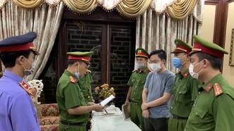 Cơ quan chức năng đọc lệnh khởi tố, bắt tạm giam Tống Phước Hoàng Hưng