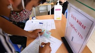 TPHCM: Khai báo y tế điện tử toàn dân từ ngày 24-6