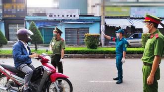 Xử phạt nhiều trường hợp vi phạm Chỉ thị 16