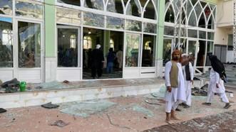 HIện trường vụ nổ. Ảnh: Getty Images