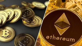 Tiền ảo bitcoin và ETH