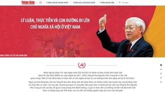 Ra mắt trang thông tin đặc biệt về bài viết của Tổng Bí thư Nguyễn Phú Trọng