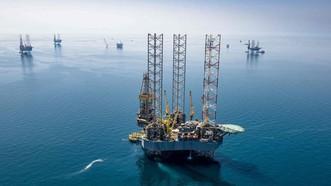 Một mỏ dầu của công ty Aramco