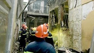 Lực lượng PCCC đã dập tắt đám cháy