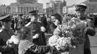 Ngày Chiến thắng ở thủ đô Moscow năm 1945