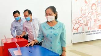 Chủ tịch HĐND TPHCM Nguyễn Thị Lệ: Chủ động 4 phương án bỏ phiếu trong lúc phòng chống dịch