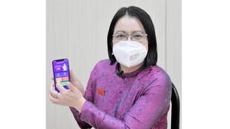 Phó giám đốc Sở TT-TT TPHCM Võ Thị Trung Trinh