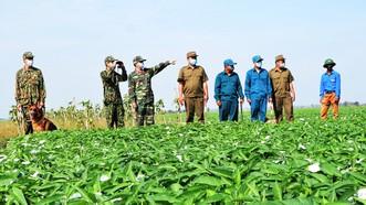 """Lực lượng chức năng ở An Giang tăng cường tuần tra biên giới, quyết giữ """"vùng xanh"""" an toàn"""