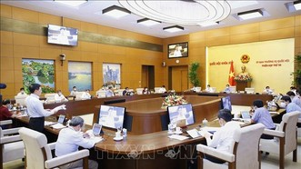 Hôm nay, khai mạc phiên họp thứ 57 của UBTV Quốc hội