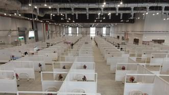 Bệnh viện dã chiến 1.500 giường vừa được đưa vào sử dụng ở Bình Dương