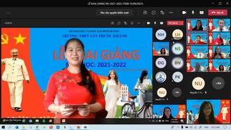 Bình Dương tổ chức khai giảng năm học 2021-2022 bằng hình thức trực tuyến