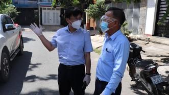 Ban Dân vận Thành ủy TPHCM thăm lực lượng tuyến đầu phòng chống dịch ở quận Bình Tân