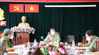 """Giám đốc Công an TPHCM yêu cầu cán bộ chiến sĩ phải giữ vững """"vùng xanh"""""""