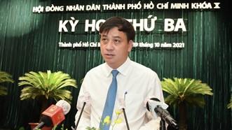 Phó Chủ tịch UBND TPHCM Lê Hòa Bình: Tập trung giải quyết dứt điểm tồn tại ở Thủ Thiêm