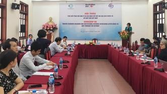 Viện trưởng CIEM Trần Thị Hồng Minh phát biểu khai mạc hội thảo