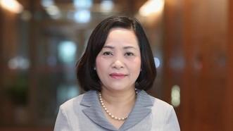 Bà Nguyễn Thị Thanh, Trưởng ban Công tác đại biểu, Phó Trưởng ban Tổ chức Trung ương, Ủy viên Hội đồng Bầu cử quốc gia. Ảnh: QUANG PHÚC