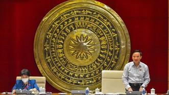 Phó Chủ tịch Quốc hội Nguyễn Khắc Định chủ trì phiên họp thứ ba của Tổ công tác của Ủy ban Thường vụ Quốc hội về thực hiện Nghị quyết số 30/2021/QH15