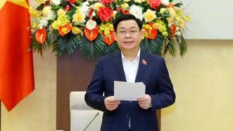 Chủ tịch Quốc hội chủ trì họp về chiến lược xây dựng và hoàn thiện nhà nước pháp quyền XHCN