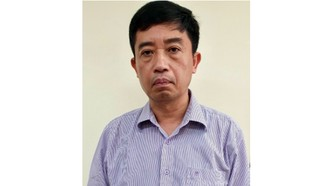 Bị can Phạm Vũ Hải, nguyên Giám đốc nhà máy ô tô Veam. Ảnh: BCA