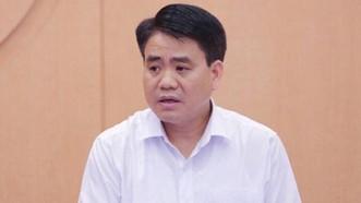 Truy tố ông Nguyễn Đức Chung do sai phạm trong mua chế phẩm Redoxy-3C