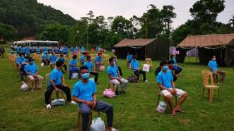 Từ ngày 1-8, tỉnh Thanh Hóa tạm dừng tiếp nhận người dân về từ vùng đang giãn cách xã hội