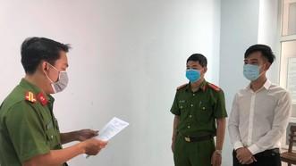 Công an TP Đà Nẵng tống đạt quyết định khởi tố đối với Nguyễn Quang Trọng