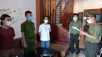 Lê Thị Thanh Lộc nhận lệnh khởi tố, bắt tạm giam tại nơi lưu trú