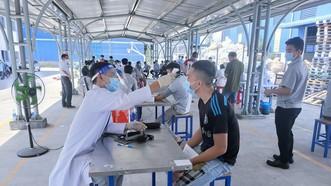 Bình Phước tổ chức tiêm vaccine phòng Covid-19 đợt 11