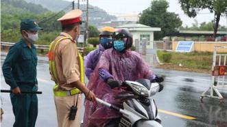 Quảng Nam lập 7 chốt kiểm soát dịch tại cửa ngõ ra vào tỉnh