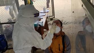 Huyện miền núi Nam Trà My (tỉnh Quảng Nam) đã ghi nhận hơn 150 ca mắc Covid-19 chỉ trong vòng 5 ngày gần đây. Ảnh: NGUYỄN CƯỜNG
