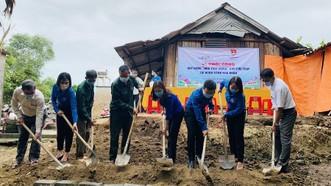 Quảng Trị: Xây dựng nhà tình nghĩa cho cựu TNXP có hoàn cảnh khó khăn