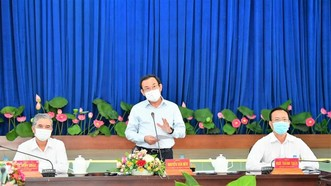 Bí thư Thành ủy TPHCM Nguyễn Văn Nên: Chủ động nghiên cứu, đề xuất cơ chế thay vì chờ tiền, chờ nhà đầu tư