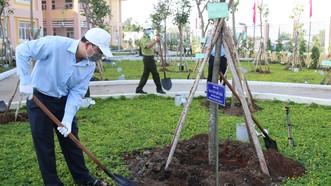 TPHCM tổ chức lễ phát động Tết trồng cây đời đời nhớ ơn Bác Hồ năm 2021
