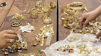 Tang vật thu giữ tại nhà Hoàng
